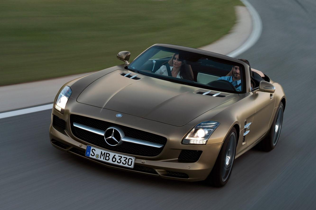 Prix mercedes sls amg roadster