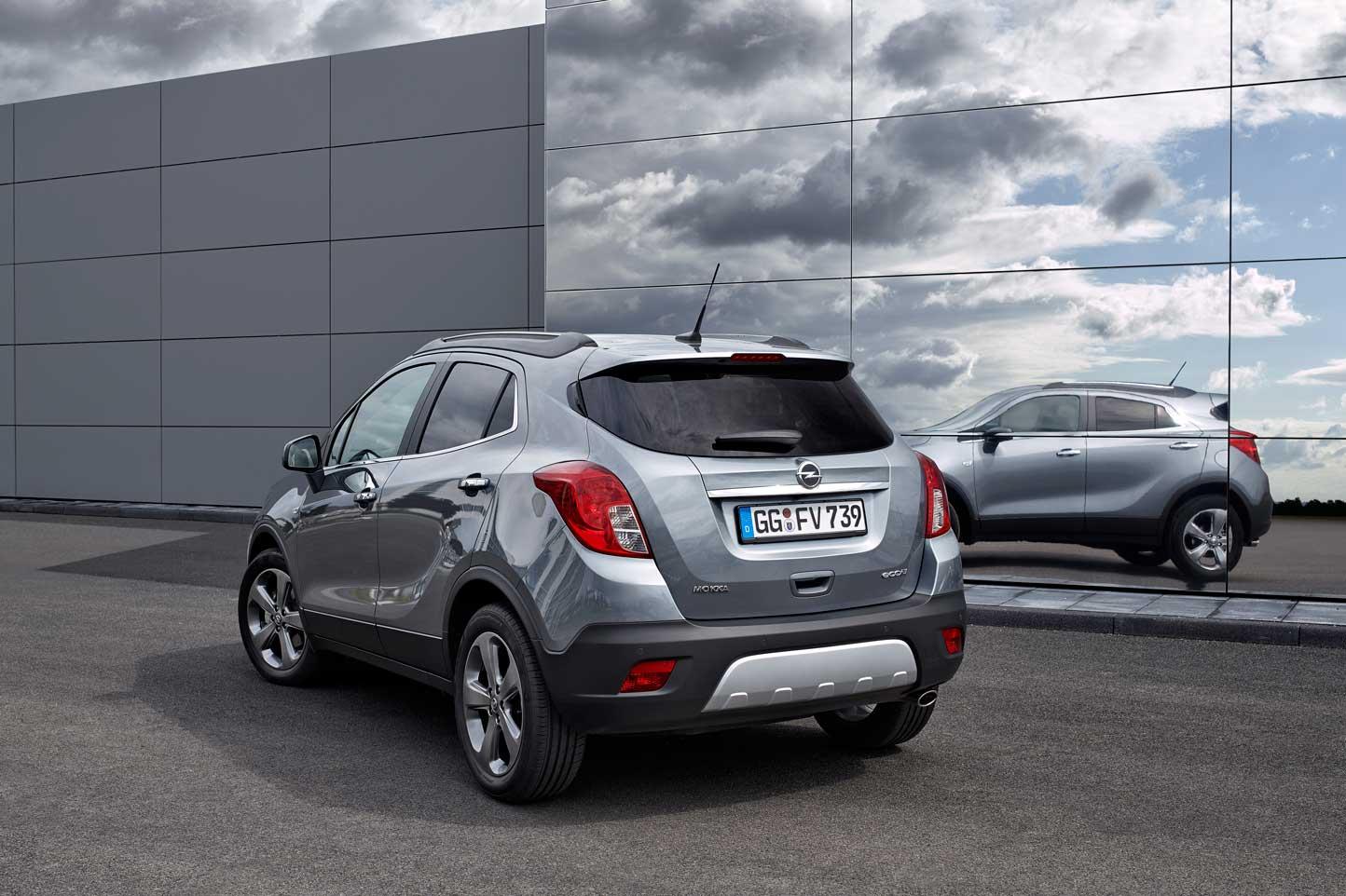 Prova Opel Mokka scheda tecnica opinioni e dimensioni 1.4 ...