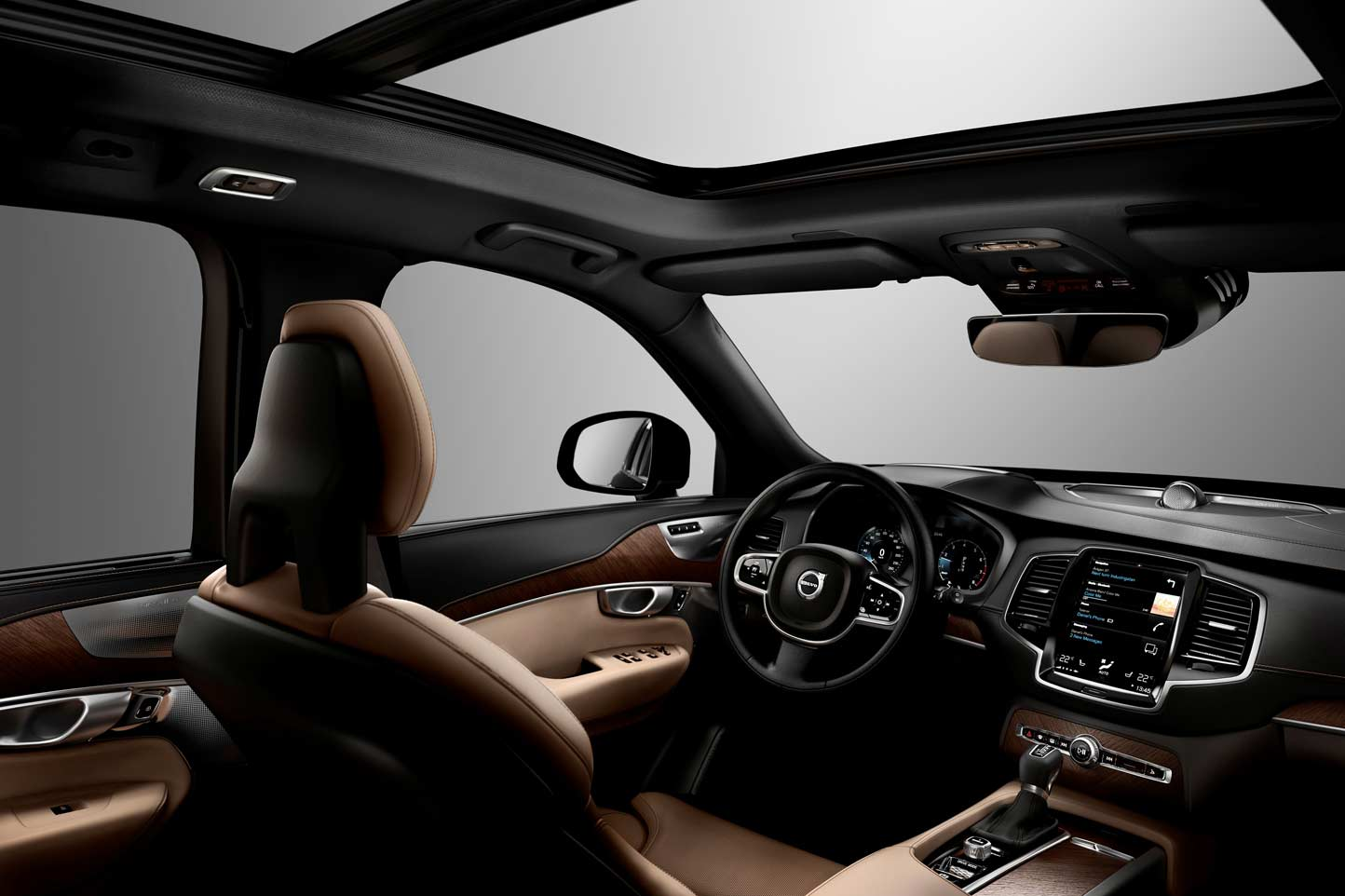 fiche technique volvo xc90 d5 awd 2015. Black Bedroom Furniture Sets. Home Design Ideas