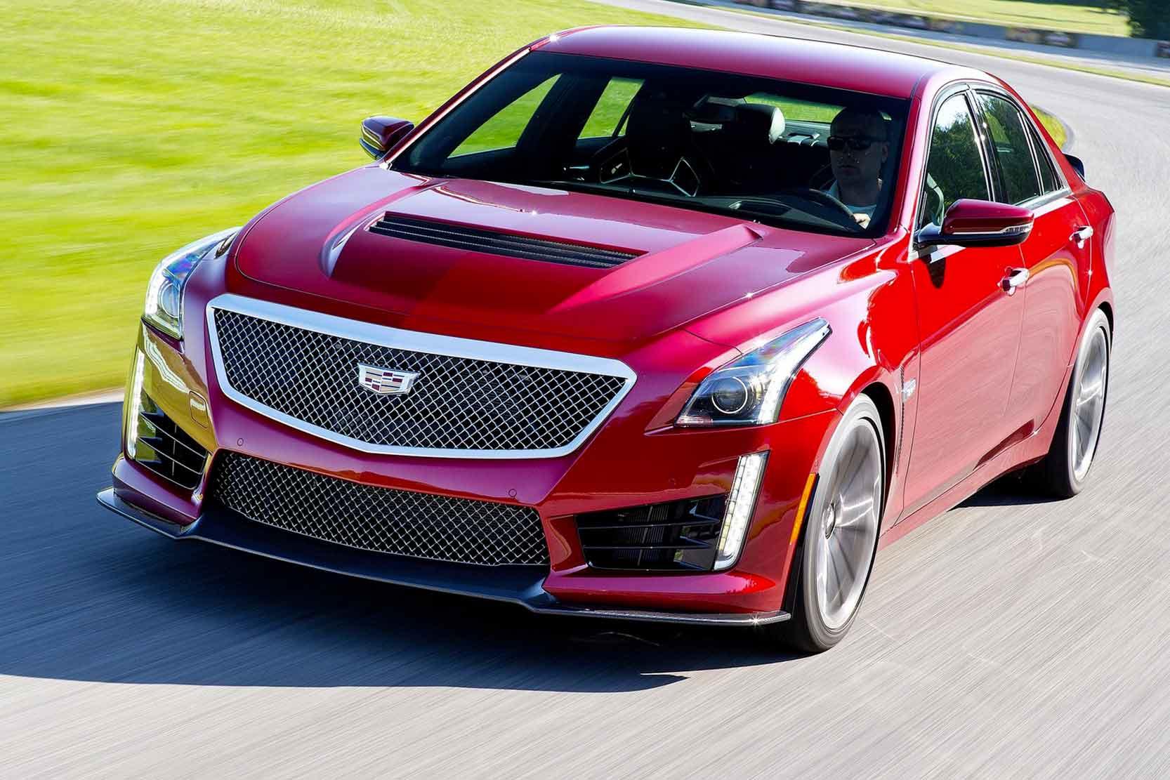 Fiche technique Cadillac CTS V 2017