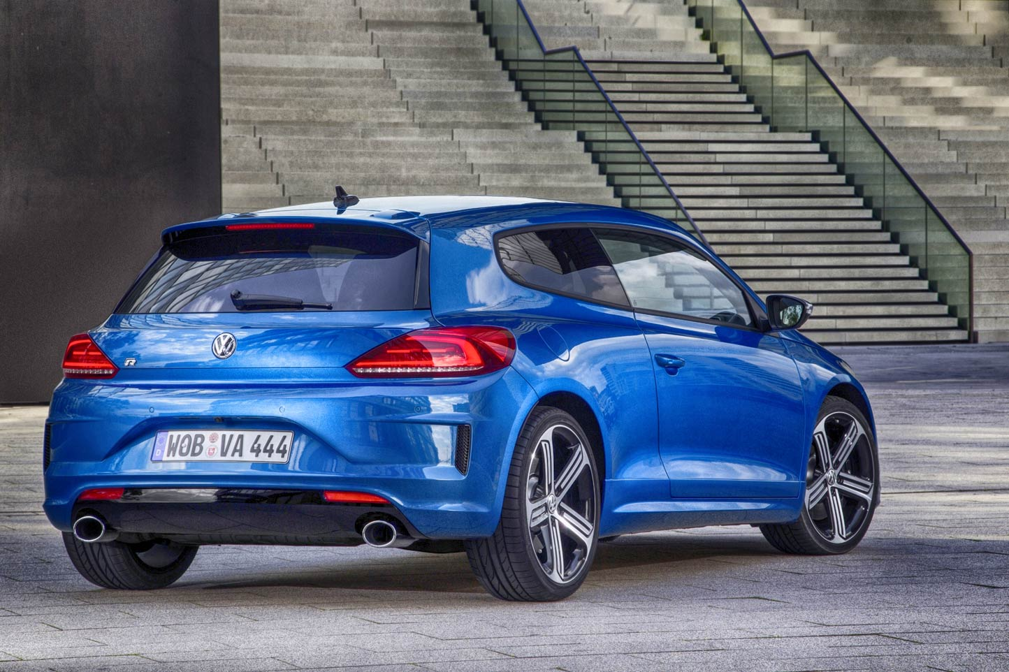 Fiche technique Volkswagen Scirocco R 2017