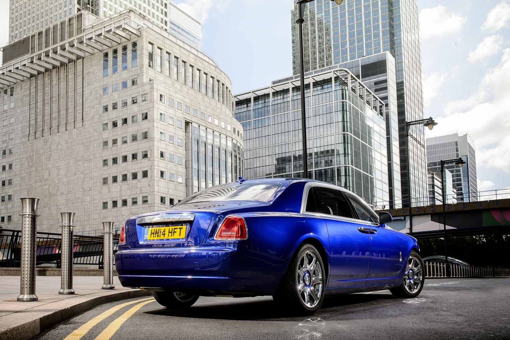 Fiche technique Rolls-Royce Ghost V12 2019