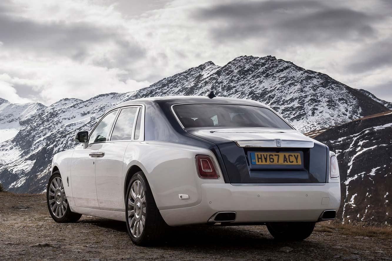 Fiche technique Rolls-Royce Phantom V12 2019