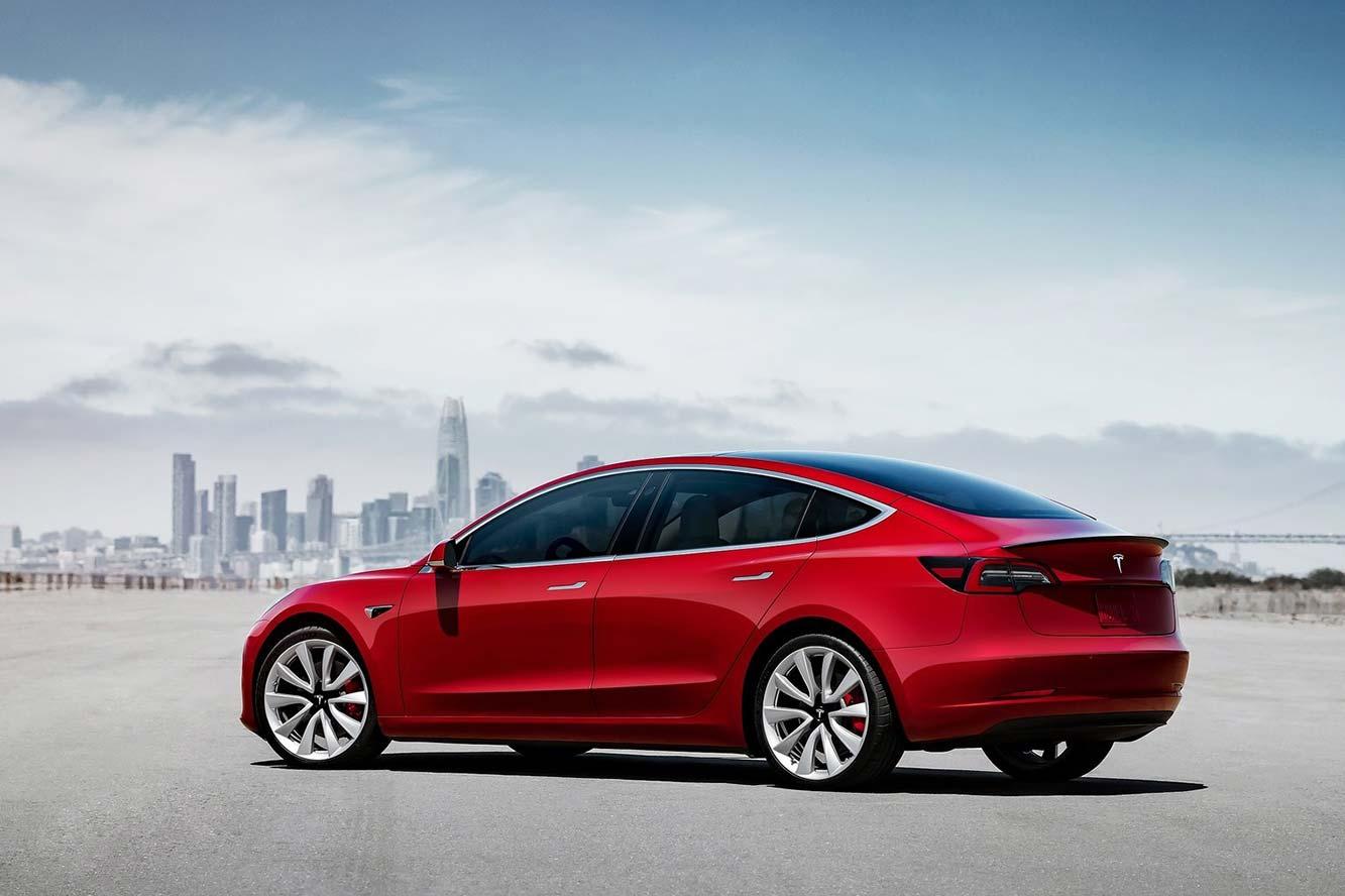 Fiche technique Tesla Model 3 75 kWh 2019