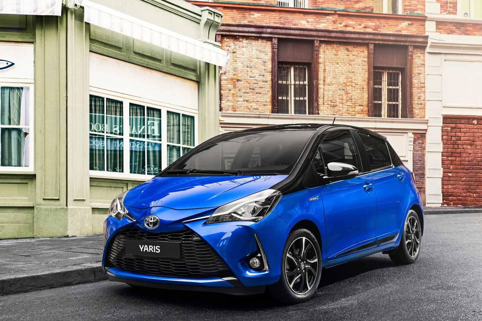 Fiche technique Toyota Yaris 1.0 VVT-i 72 2019