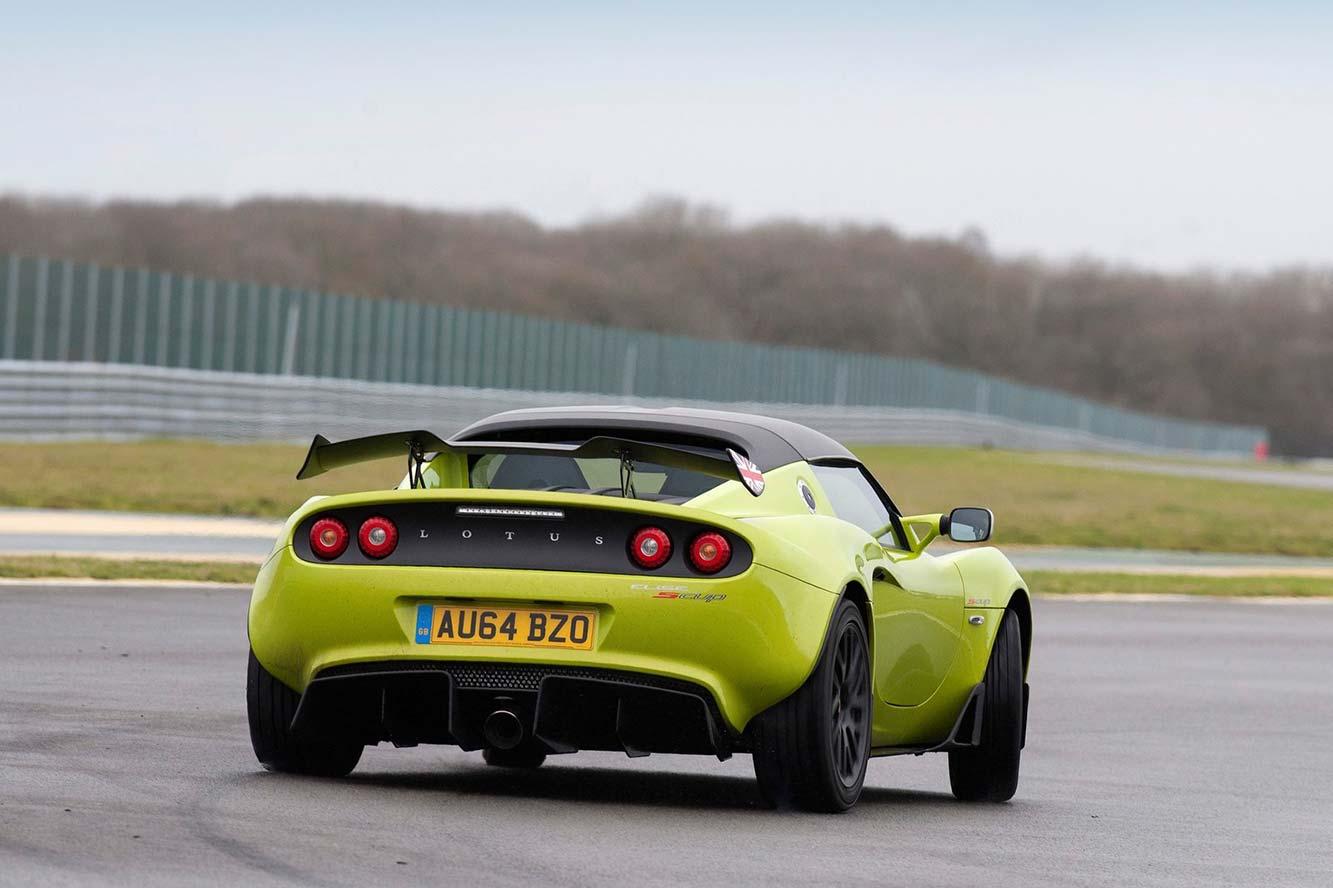 Fiche technique Lotus Elise Sprint 220 2020