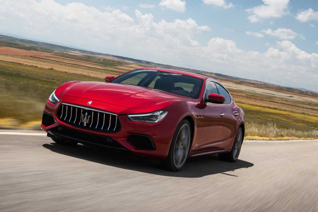 Fiche technique Maserati Ghibli 3.0 V6 2020