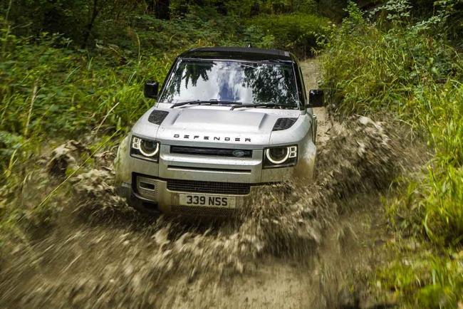Fiche technique Land-Rover Defender 90 D300 mHEV 2021