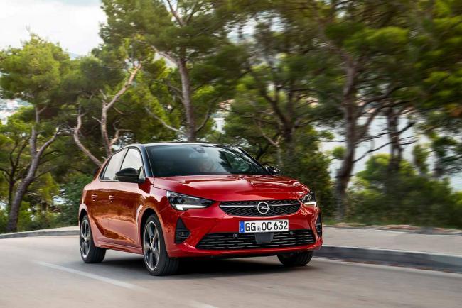 Fiche technique Opel Corsa 1.2 75 2021