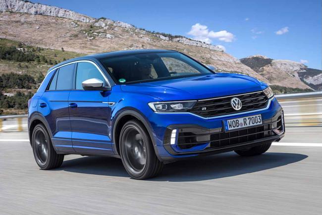 Fiche technique Volkswagen T-Roc R 300 4Motion 2021